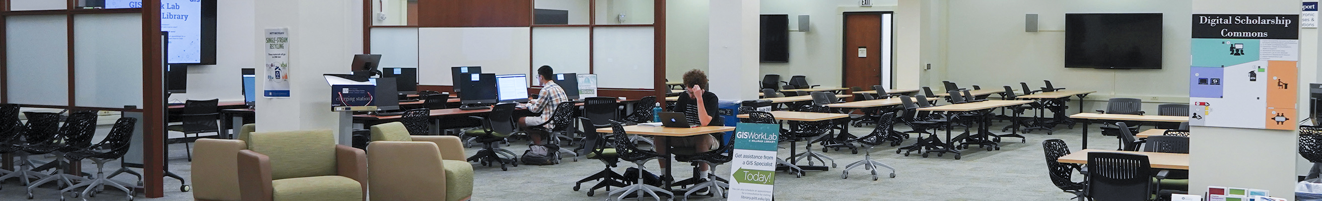 Digital Scholarship Commons Space