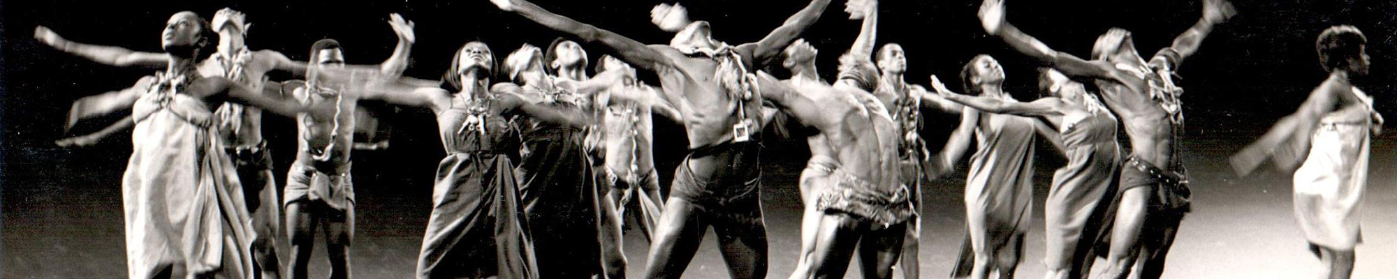 Bob Johnson and other dancers during a performance