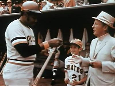 Bing Crosby with the Pittsburgh Pirates