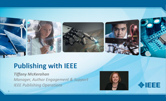 Publishing with IEEE