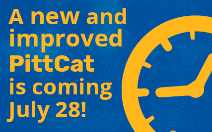 A new and improved PittCat is coming July 28!