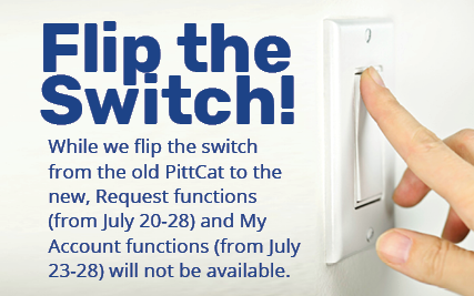 Request functions (from July 20-28) and My Account functions (from July 23-28) will not be available.