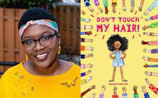 Author: Sharee Milller and Book Cover:  Don't touch my hair!